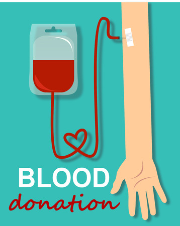 concep: Blood donation design, medical and healthcare concep
