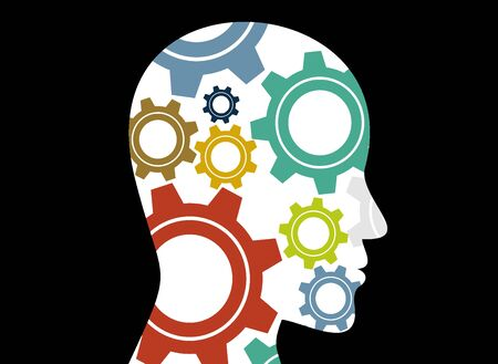 Business concepts. the concept of human intelligence. Brain storming.