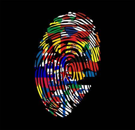 European Union countries on fingerprints