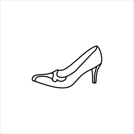 Women's shoe icon