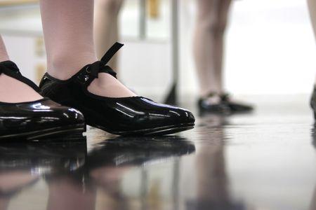 rubinetti: Classe di danza  Archivio Fotografico