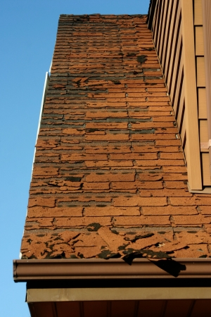 Does your roof look like this? You need help!  (Focus is on middle of image - front is slightly out of focus - some DOF evident)