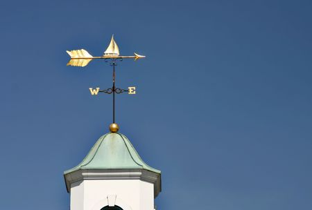 wiatrowskaz: Å»aglowe Wiatrowskaz Zdjęcie Seryjne