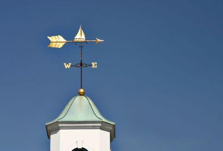 vane: Sailboat weather vane Stock Photo