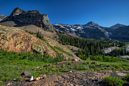 blanche: This photo was taken above Lake Blanche in Utah