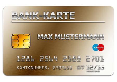 クレジットカードの図 写真素材