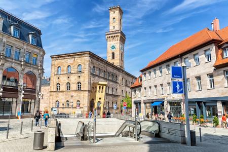 The Bavarian city of F?rth near Nuremberg