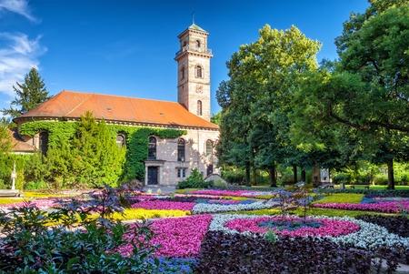 The Bavarian city of Fürth near Nuremberg 写真素材