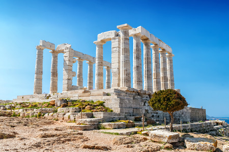 The historical Athens in Greece
