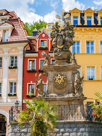 the city of karlsbad in the czech republic