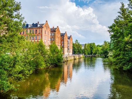 The Bavarian city of Fürth near Nuremberg Reklamní fotografie