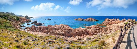 the italian island sardinia in mediterranean sea