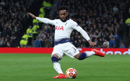 LONDON, ENGLAND: 09 MAR 2019. Danny Rose of Tottenham during the UEFA Champions League Quarter Final, First Leg match Редакционное