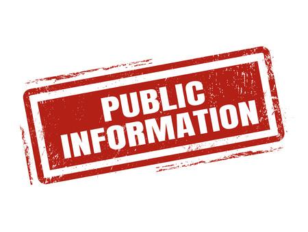 赤いスタンプ スタイル、白の背景にスタンプで、公開情報