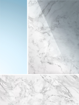 mottling: Elegant marbles wall template, stone texture for design elements or background, 3d illustration