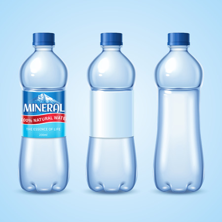 Mineral water bottle set