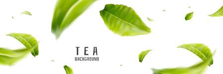Flying tea leaves design pattern