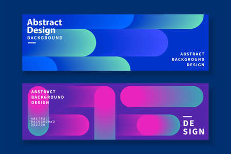 Abstract background templates with futuristic gradient linear design, for presentation, web banner and header use