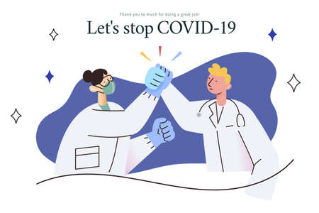 Thank you doctors, nurses and medical personnel team for all the dedication and enthusiasm to fight against COVID-19