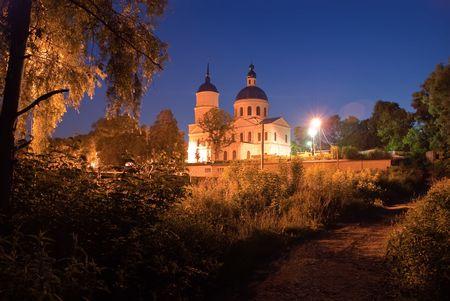 The Nikolskaya orthodox church in Elabuga, Russia