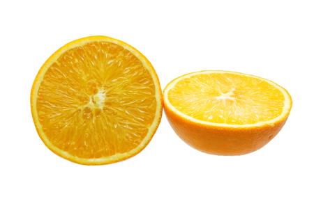 sliced orange: Sliced orange fruit Stock Photo