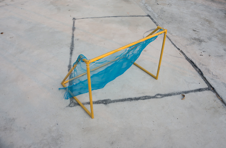 do it yourself: poor football Goal do it yourself
