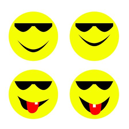 emote: emoticons Stock Photo