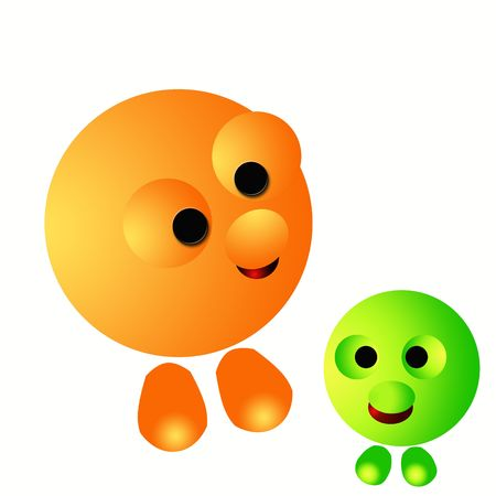 big 3d emoticons Stock Photo - 4865464