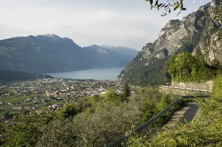 View of Riva del Garda, Italy