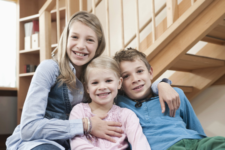 twee: Portrait of three siblings