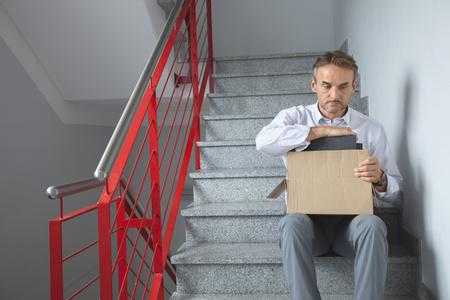 Mature man redundant jobless unemployment failure LANG_EVOIMAGES