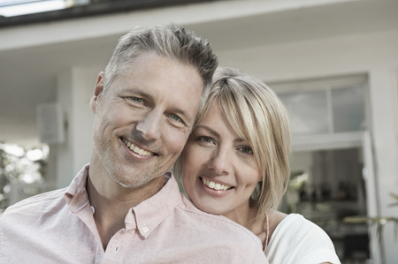 Mature middle aged couple wellbeing happy portrait LANG_EVOIMAGES
