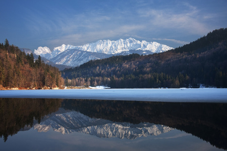 generic location: Hechtsee is a lake of Tyrol, Austria