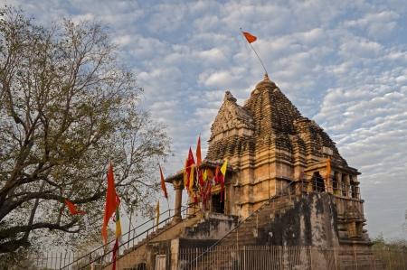 nagara: Matangeshvara Temple, dedicated to Lord Shiva, Western Temples of Khajuraho  Stock Photo