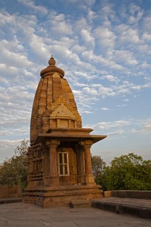 Part of Lakshmana Temple, Western Temples of Khajuraho, Madhya Pradesh, India