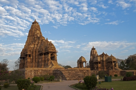 Kandariya Mahadeva Temple, dedicated to Shiva, Western Temples of Khajuraho, Madya Pradesh, India  photo
