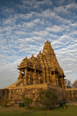 Kandariya Mahadeva Temple, dedicated to Shiva, Western Temples of Khajuraho, Madya Pradesh, photo