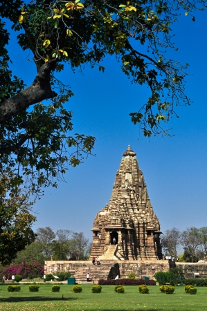 Chitragupta Temple, Western Temples of Khajuraho, Madhya Pradesh, India  It is an UNESCO world heritage site  Popular world tourist destination  photo