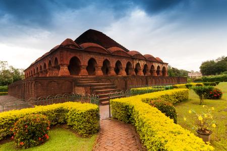 Rasmancha Temple, Bishnupur, Inde - temple de brique Vieux faite en 1600