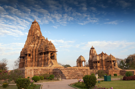 Kandariya Mahadeva Temple, dedicated to Shiva, Western Temples of Khajuraho, Madyha Pradesh, India