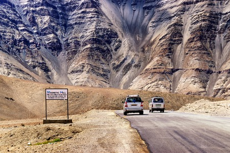 gravity: A gravity hill where slow speed cars are drawn against gravity is famously known as Magnetic Hill , a natural wonder at Leh, Ladakh, Jammu and Kashmir, India