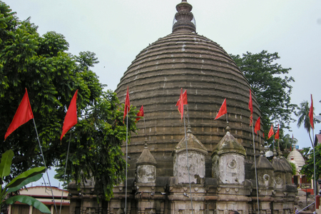 tantra: The Kamakhya Temple or Kamrup-Kamakhya is a Hindu temple dedicated to the mother goddess Kamakhya. Situated on the Nilachal Hill in western part of Guwahati city in Assam, India.