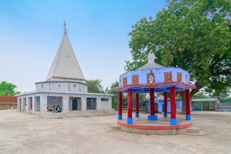 BANKURA, WEST BENGAL , INDIA - DECEMBER 24TH 2015 : Biharinath temple is at the top of the Biharinath hill. A fomous Hindu temple of Lord Shiva.