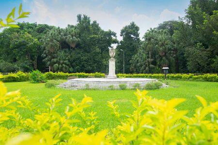 Historical monument insidie Acharya Jagadish Chandra Bose Indian Botanic Garden previously known as Indian Botanic Garden, Howrah, West Bengal, India.