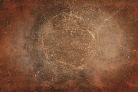 Weathered copper background photo
