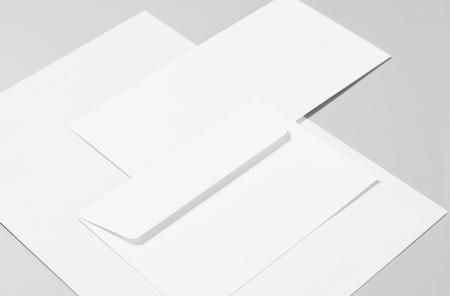 Blank stationery  Standard-Bild