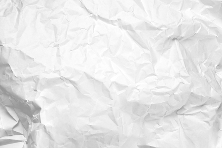 Blank crumpled paper background