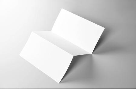 Blank Folded Letter, Letterhead, or Flyer