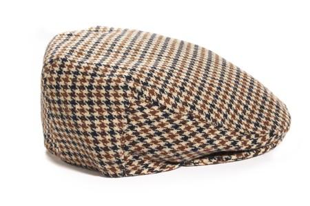 Man black-brown-white woolen cap Stock Photo - 4156644
