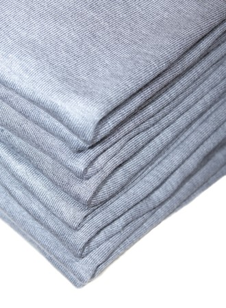 Pile of gray knitted clothing  Stock Photo - 4159279